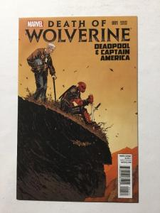Death Of Wolverine 1 Variant Edition And Capital America Nm Near Mint