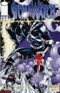 Stormwatch #5 VF/NM; Image | save on shipping - details inside
