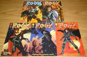 the Rook #0 & 1-4 VF/NM complete series DAN BRERETON harris comics MIKE MIGNOLA