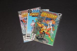 DC LOT FIRESTORM Comics #2,#3,#4 VG/F(poss mixed lot from diff series) (SIC227)