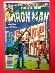 THE ALL NEW IRON MAN V1 #173 1983 MARVEL / NEWSSTAND / MID-GRADE QUALITY+