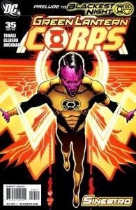 Green Lantern Corps #35 (ungraded) stock photo / ID#00E