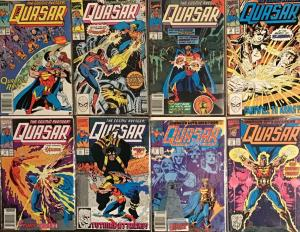 QUASAR (MARVEL)#4,7,8,10,11,12,13,16 ALL IN NM CONDITION 8 BOOK LOT