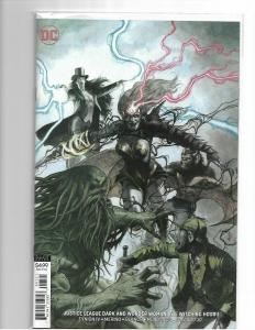 JUSTICE LEAGUE DARK and WONDER WOMAN: THE WITCHING HOUR #1 VARIANT - NM/NM+
