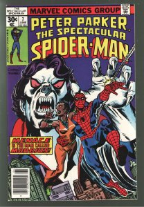PETER PARKER SPECTACULAR SPIDERMAN 7 VF+ 8.5  EARLY MORBIUS