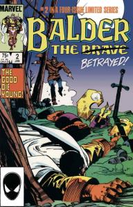 Balder the Brave #2 VF/NM; Marvel | save on shipping - details inside