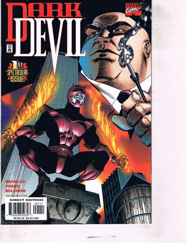 Lot Of 2 Marvel Comic Book Dark Devil #1 and Cyclops Phoenix #1 AB7