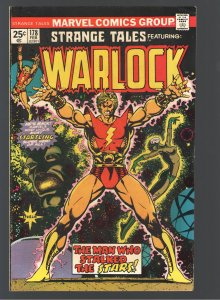 STRANGE TALES 178 F/VF 7.0;1st WARLOCK by Starlin! 1st MAGUS! UNDERVALUED!