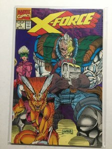 X-Force 1 Very Fine Vf 8.0 Printer Defect Marvel