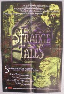 STRANGE TALES Promo poster , 12x18, 1997, Unused, more in our store