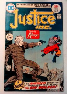 Justice Inc. #2 DC 1975 VF Bronze Age Comic Book 1st Print