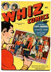 Whiz #59 1944-fawcett-captain marvel-ibis-spy smasher-golden arrow