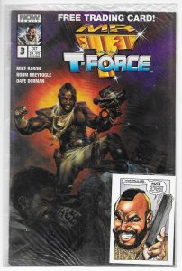 Mr T And The T-Force #3 Sealed Polybag with Trading Card (NOW, 1993) VF/NM