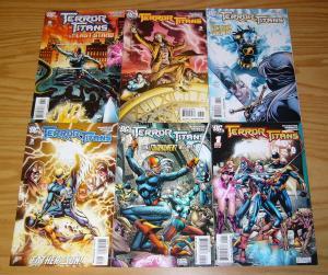 Terror Titans #1-6 VF/NM complete series - sean mckeever - teen titans spinoff