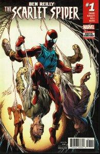 Ben Riley: Scarlett Spider #1 - NM - The Clone is Back!