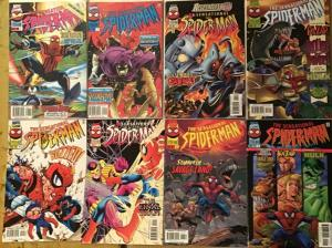 SENSATIONAL SPIDER-MAN MARVEL 8 CONSECUTIVE ISSUES #8-15 NM CONDITION
