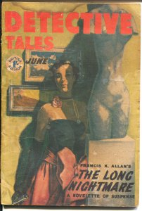 Detective Tales 6/1955-Atlas-British Edition-hard boiled crime pulp-G/VG