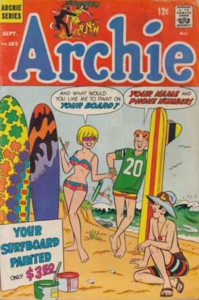 Archie Comics #185, Good+ (Stock photo)