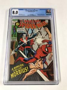 Amazing Spider-Man #101 CGC 8.0