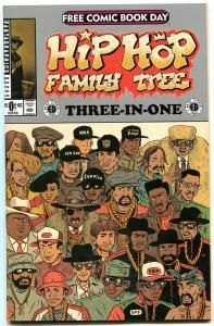 Hip Hop Family Tree Three-In-One #0- Ed Piskor- Fantagraphics- Free Comic Day