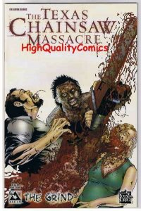 TEXAS CHAINSAW MASSACRE  GRIND #1, NM+, Gore, Horror, 2006, more TCM in store