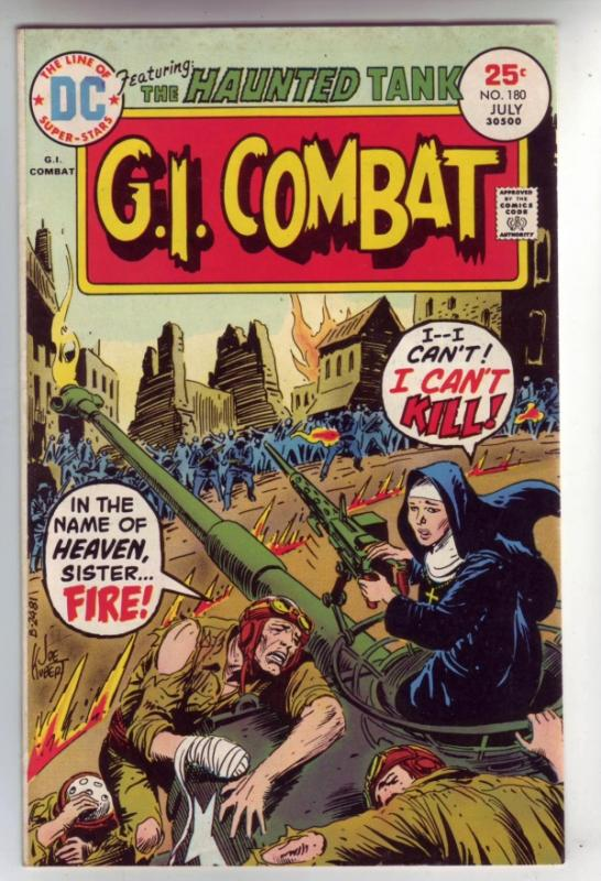 G.I. Combat #181 (Aug-75) VF High-Grade The Haunted Tank