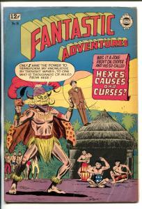 FANTASTIC ADVENTURES #16-1963-VOO DOO COVER-HORROR-NUDITY-good