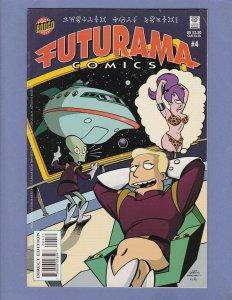 Futurama #4 VG/FN Bongo Comics 2001