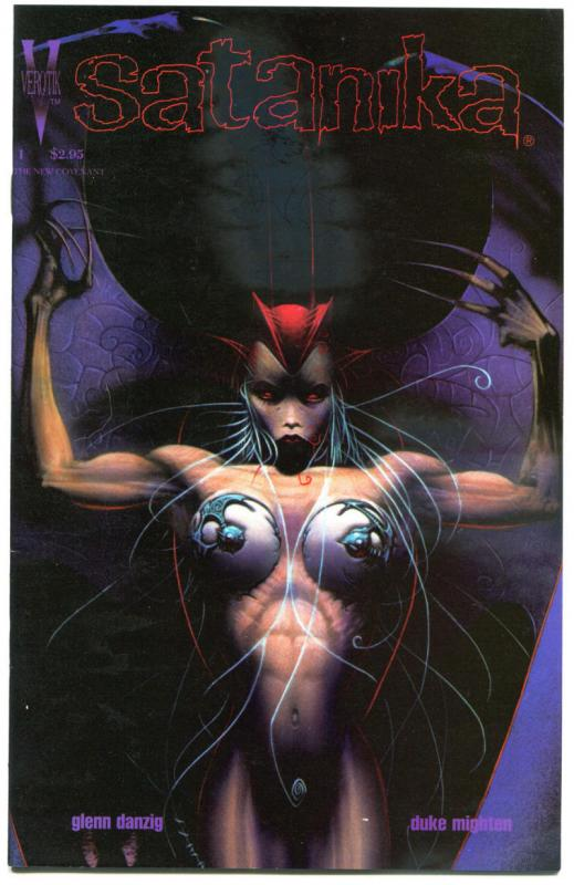 SATANIKA #1, VF/NM, Duke Mighten, Verotik, 1996, Glenn Danzig, more in store