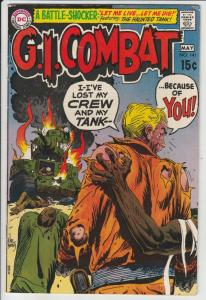 G.I. Combat #141 (May-70) VF High-Grade The Haunted Tank