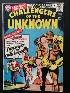 Challengers of the Unknown (1958) 48 Fine (6.0) Doom Patrol