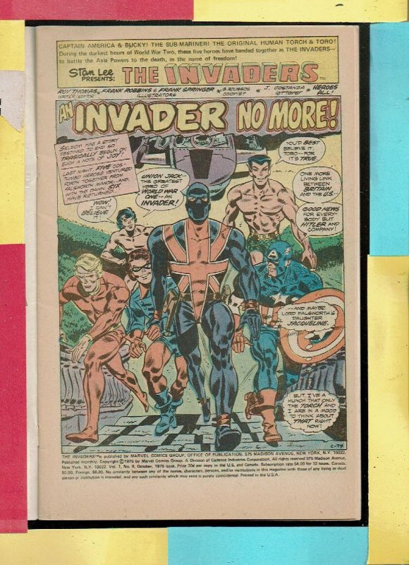 THE INVADERS 9