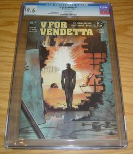 V For Vendetta #3 CGC 9.6 alan moore - david lloyd - dc comics 1988