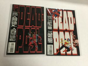 Deadpool Circle Chase 1 2 Vf Very Fine 8.0 Marvel