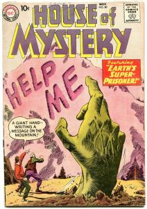 HOUSE OF MYSTERY #80 HORROR SCI-FI MESKIN 1958 DC RARE VG