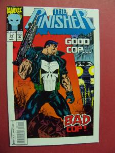 THE PUNISHER  #81  (Near Mint 9.4 or better) MARVEL COMIC