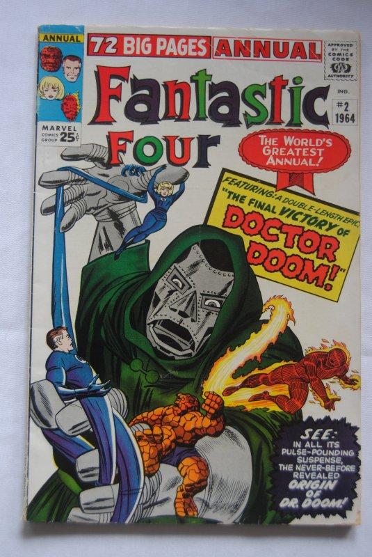 Fantastic Four Annual #2