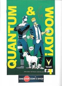 Quantum & Woody #1 PULLBOX VARIANT signed Tom Fowler NM- VALIANT HOT SERIES