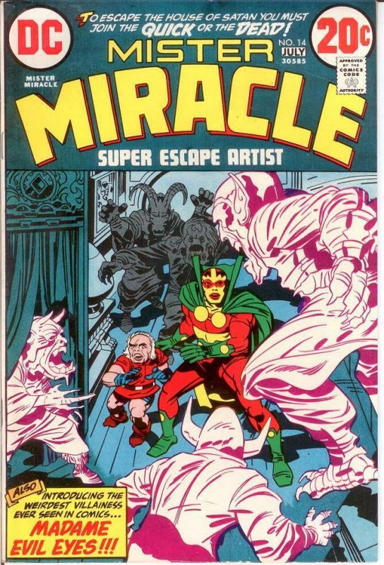 MISTER MIRACLE 14 VF July 1973 COMICS BOOK