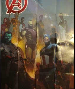 AVENGERS Promo Poster, 24 x 36, 2013, MARVEL, Unused more in our store 318