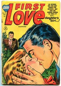 First Love #37 1954- Harvey Romance Golden Age-Gangster's Girl G/VG