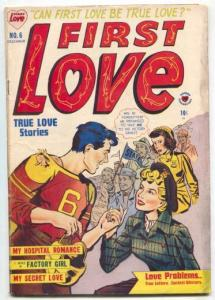 First Love Illustrated #6 1949- I Was a Factory Girl VG
