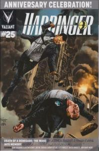 Harbinger (2nd Series) #25A VF/NM; Valiant | save on shipping - details inside