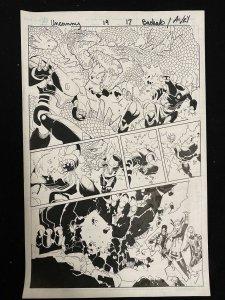 Uncanny X-Men #19 Page 17 Original Comic Book Art - Chris Bachalo