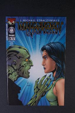 Midnight Nation #5 March 2001 1st Printing j. Michael Stracz