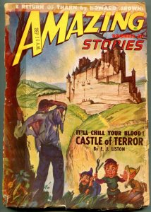 Amazing Stories Pulp November 1948-Castle of Terror-