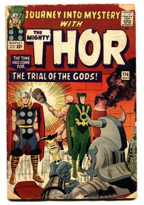 JOURNEY INTO MYSTERY #116 comic book 1965-LOKI   THOR marvel