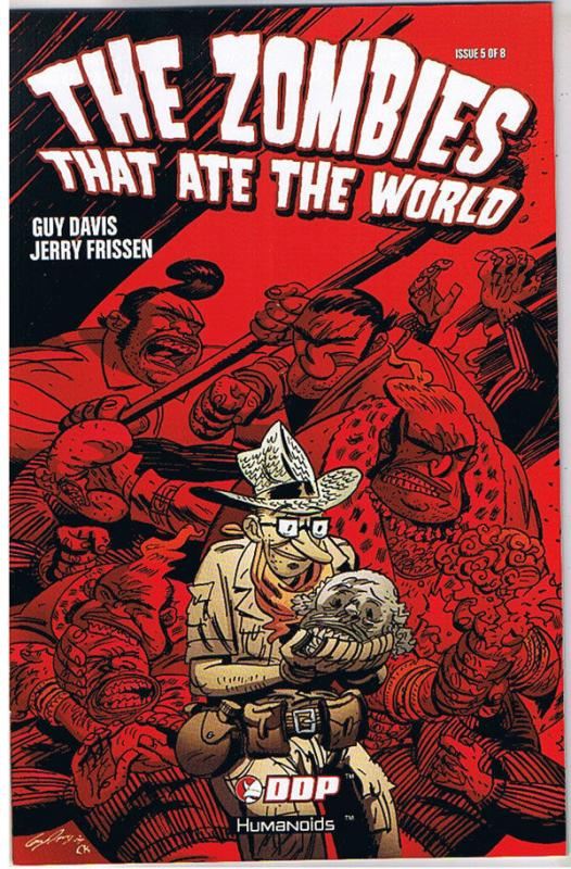 ZOMBIES THAT ATE the WORLD #5, NM, Guy Davis, 2009, Undead,more Horror in store
