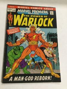 Marvel Premiere 1 Vg/Fn Very Good/Fine 5.0 Power Of Warlock