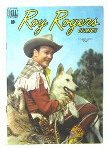Roy Rogers Comics (1948 series) #24, Fine+ (Actual scan)
